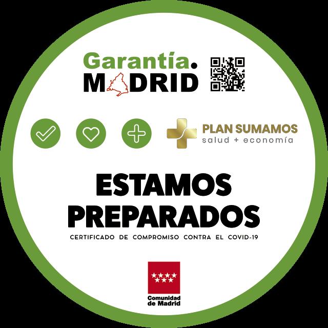 Identificativo Garantía Madrid